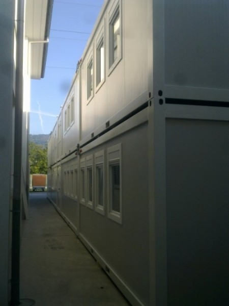 Kontejnerski objekat u Švajcarskoj