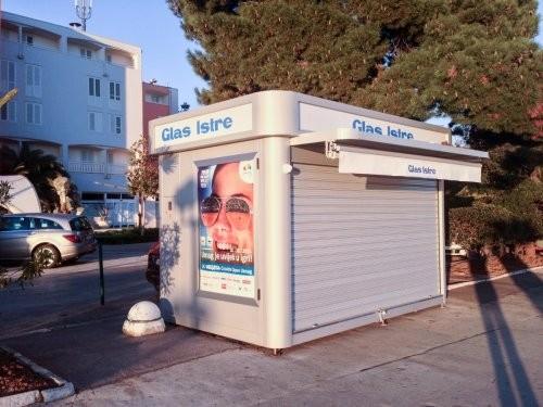 Kiosk za Glas Istre