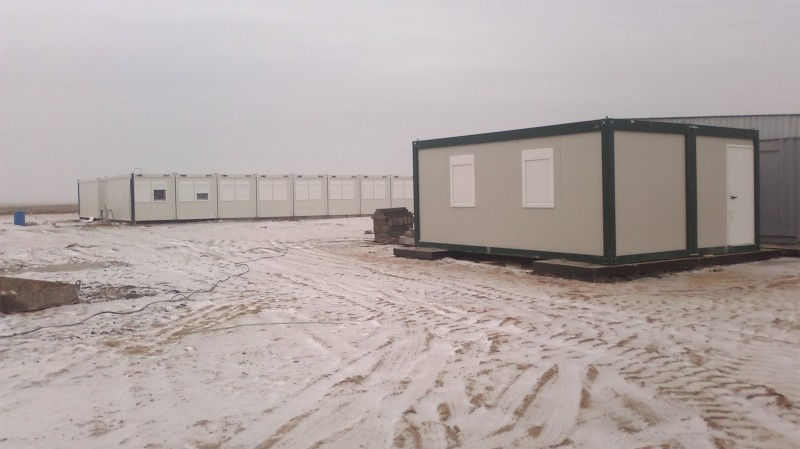 Kontejnerski objekat u Kazahstanu