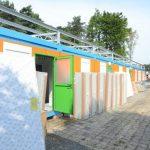 Montažni objekat - kamp za izbeglice