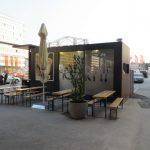 Fast food i kafe kiosk