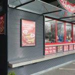 EUROmodul kiosk za fast food u Švedskoj
