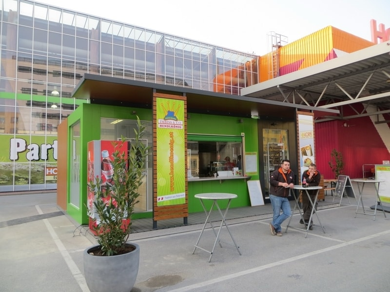 EUROmodul caffe bar i fast food kiosk LEMON