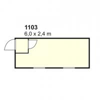 Stambeni kontejner 1103