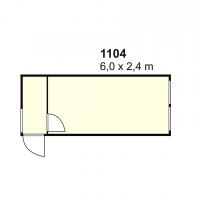 Stambeni kontejner 1104