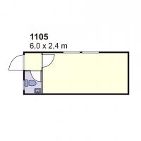 Stambeni kontejner 1105