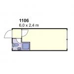 Stambeni kontejner 1106
