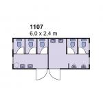 Sanitarni kontejner 1107