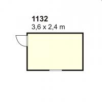 Stambeni kontejner 1132