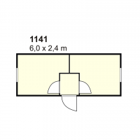Stambeni kontejner 1141
