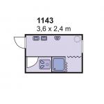 Sanitarni kontejner 1143