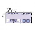 Sanitarni kontejner 1145