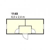 Stambeni kontejner 1149