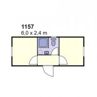 Stambeni kontejner 1157