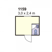 Stambeni kontejner 1159