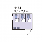 Sanitarni kontejner 1161