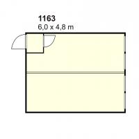 Stambeni kontejner 1163