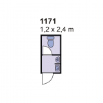 Sanitarni kontejner 1171