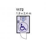 Sanitarni kontejner 1172