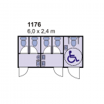 Sanitarni kontejner 1176