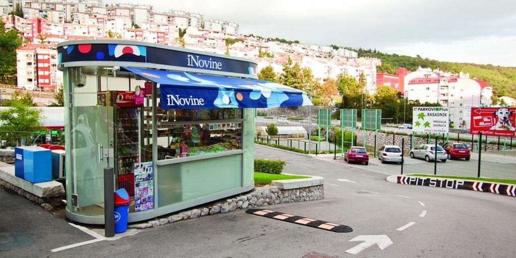 EUROmodul kiosk